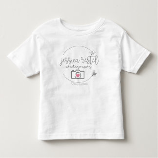 Camiseta Infantil Tshirt do jérsei da criança da fotografia de