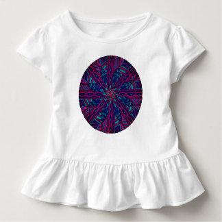 Camiseta Infantil Tshirt feito sob encomenda da criança com plissado