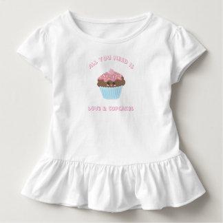 Camiseta Infantil Tudo que você precisa é cores Pastel do amor e dos