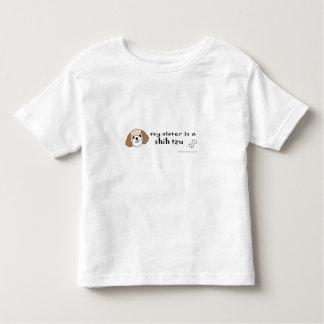 Camiseta Infantil tzu de shih