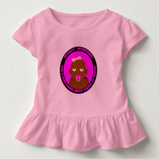 Camiseta Infantil Um bonito, engraçado, bebé