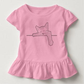 Camiseta Infantil Um gato do sono