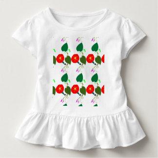 Camiseta Infantil UMA flor doce: Adicione seus CUMPRIMENTO/louvor
