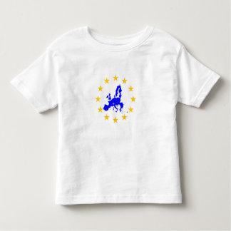 Camiseta Infantil União européia