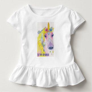 Camiseta Infantil Unicórnio: Coma meus Sparkles