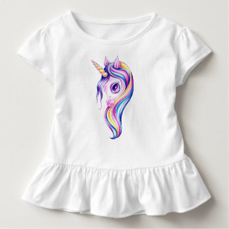 Camiseta Infantil Unicórnio do pop dos doces