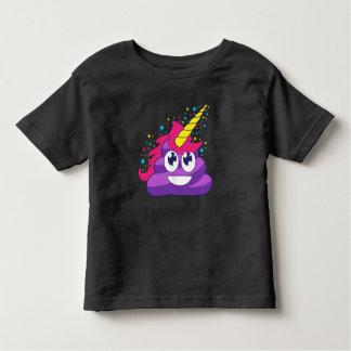 Camiseta Infantil Unicórnio Emoji de Poopy