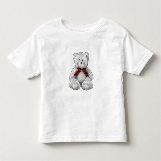 Camiseta Infantil Urso de ursinho bonito, desenho de lápis, bolinhas