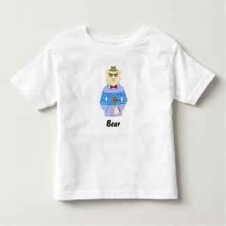 Camiseta Infantil urso do geek