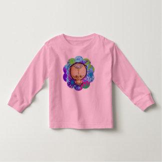 Camiseta Infantil Urso do hippy