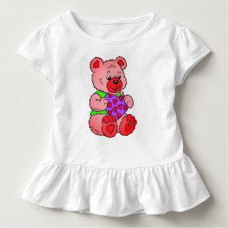 Camiseta Infantil Ursos de ursinho coloridos