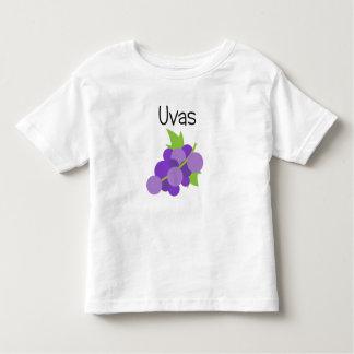 Camiseta Infantil Uvas (uvas)