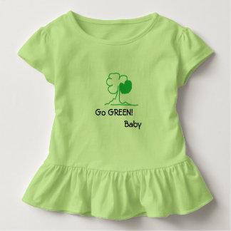 Camiseta Infantil Vai o VERDE! Bebê