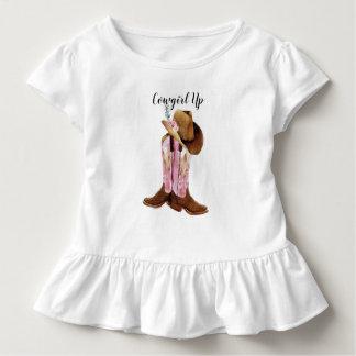 Camiseta Infantil Vaqueira acima