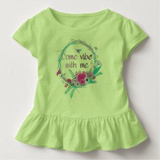 Camiseta Infantil Vem a impressão comigo