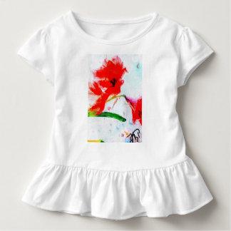 """Camiseta Infantil Vestido"""" dois da criança T como um """""""