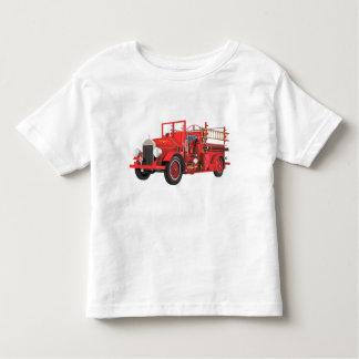 Camiseta Infantil Viatura de incêndio antiga