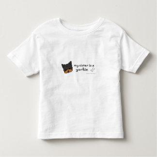 Camiseta Infantil yorkie