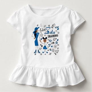 Camiseta Infantil Zeta futuro criança da phi do Zeta do treinamento
