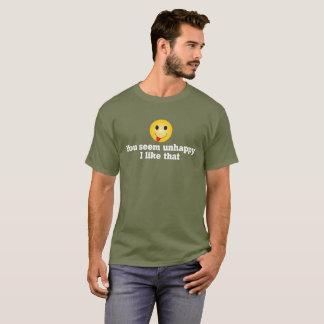 """Camiseta """"Infeliz """""""