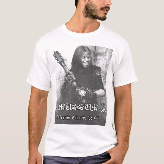Camiseta Infernis eternis do mé