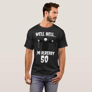 Camiseta Inferno bom eu sou já T do presente de aniversário