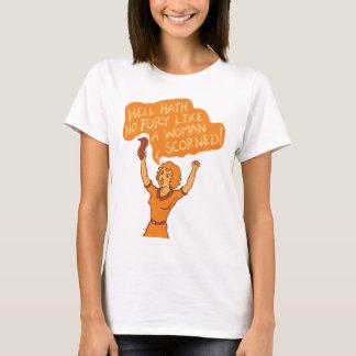 Camiseta Inferno Hath nenhum Tshirt da fúria