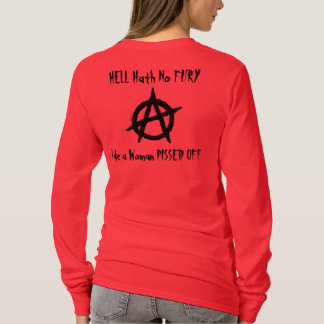 Camiseta Inferno Hath nenhuma fúria