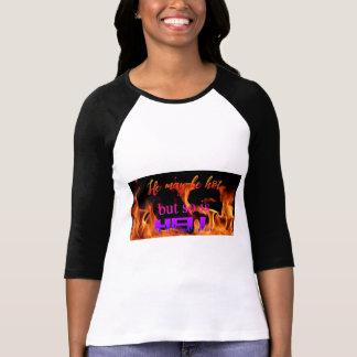 Camiseta Inferno pode estar quente mas assim que é o TShirt
