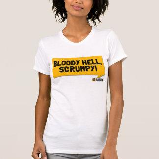 Camiseta Inferno sangrento, Scrumpy! Um t-shirt Cornish de