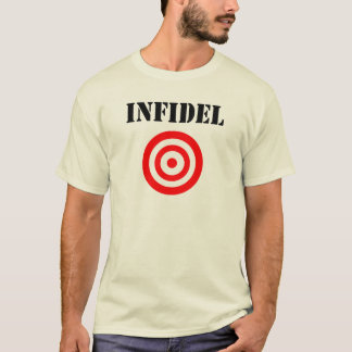 Camiseta Infiel (com alvo)