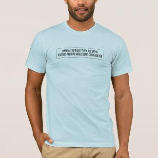 Camiseta Informação dada contente