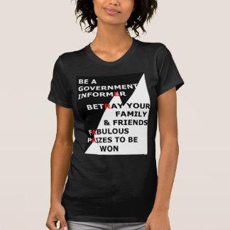 Camiseta Informador do governo