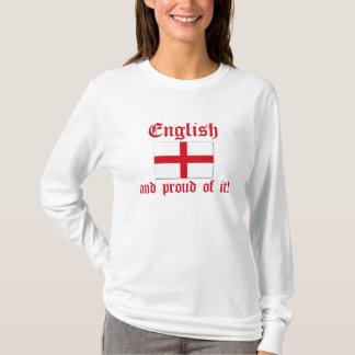 Camiseta Inglês e orgulhoso dele!