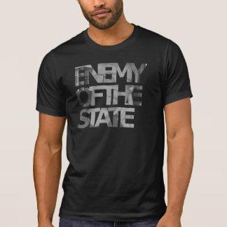 Camiseta Inimigo de Hans Hermann Hoppe do T do estado