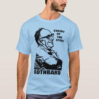 Camiseta Inimigo de Rothbard do estilo 2 do estado