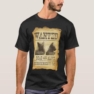 Camiseta Inoperante e vivo queridos.  O gato de