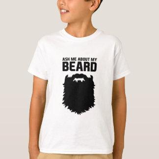Camiseta Inquira sobre minha barba