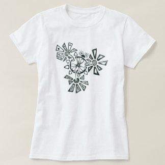 Camiseta Inseto da flor