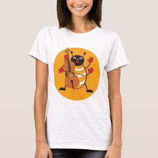 Camiseta Inseto do violoncelo