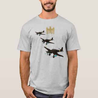 Camiseta Insígnias de Luftwaffe sobre Stuka