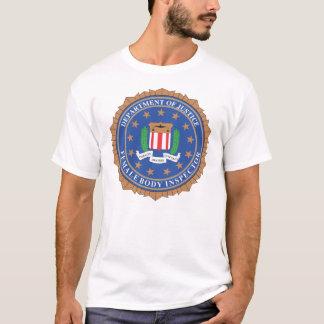 Camiseta Inspector do corpo fêmea