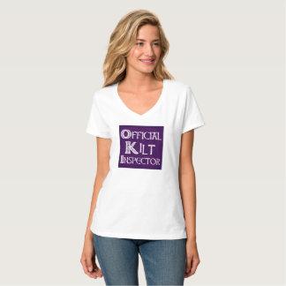Camiseta Inspector do Kilt - roxo celta