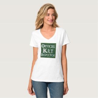 Camiseta Inspector do Kilt - verde do céltico