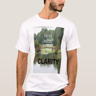 """Camiseta """"Inspiração à claridade """""""