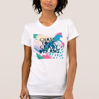 Camiseta Inspiração brilhante mim perseguição de | seus