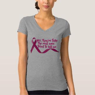 Camiseta inspiração engraçada da cura da consciência do