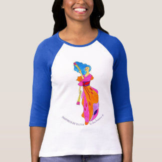 Camiseta Inspirado pela água