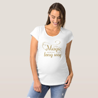Camiseta Inspirado pouca maternidade mágica Shir das