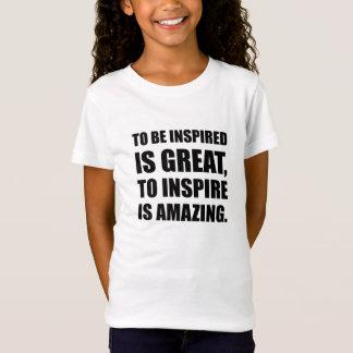 Camiseta Inspire é surpreendente